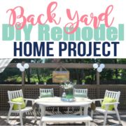 DIY Outdoor Space Remodel – Our Deck Remodel Home Project