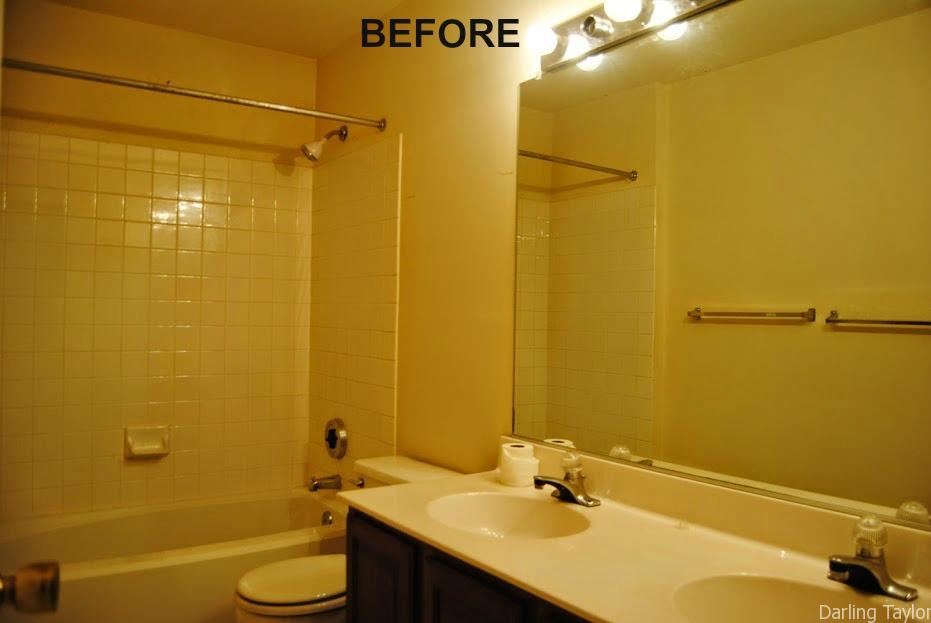 How To Remodel Your Bathroom On A Budget Simple Made Pretty - Redo your bathroom on a budget