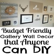 Budget Friendly Gallery Wall Decor that Anyone Can DIY