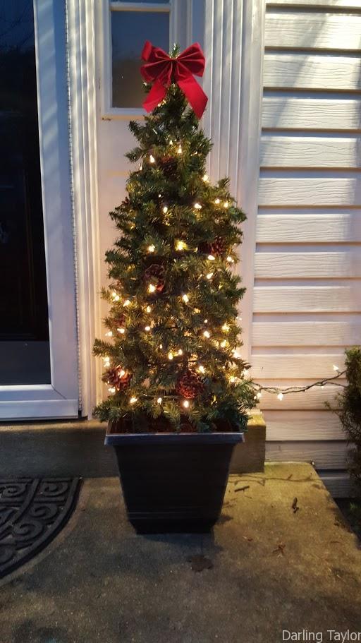 DIY $10 Holiday Trees