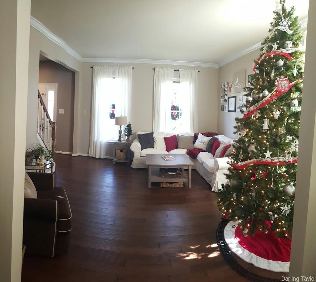 Holiday Home Tour Formal Living Room Family Room