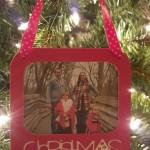Paper Craft Christmas Frame Ornament