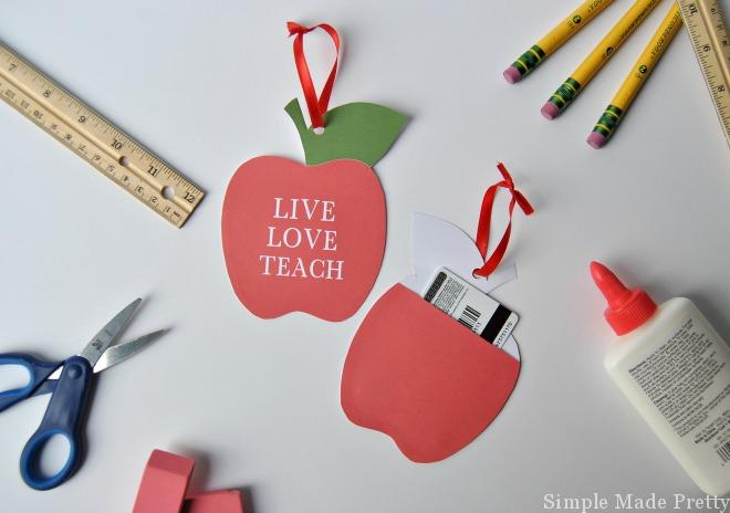 This teacher money gift idea was so easy to make and the teacher's loved these gifts!