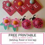 Free Printable EOS Lip Balm Valentine Cards