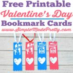 Free Printable Valentine's Day Bookmark Cards
