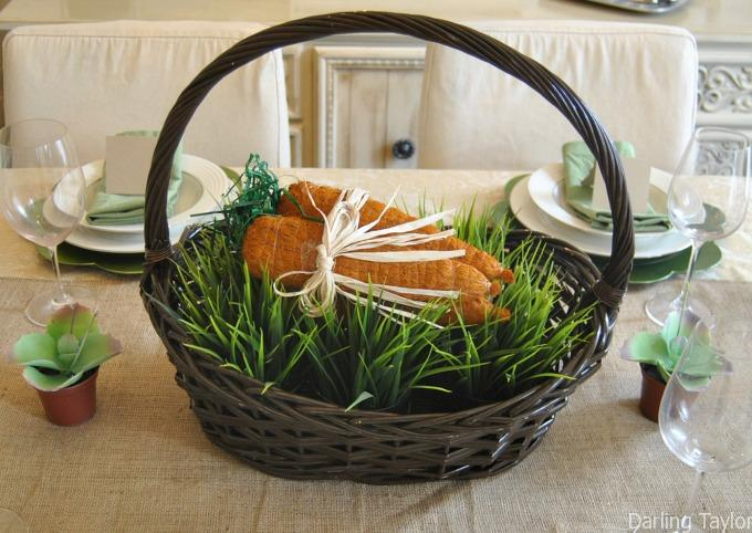 Easy Last Minute Easter Tablescapes That Anyone Can Do - With Free Printables!