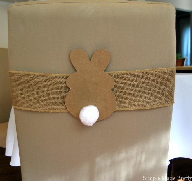 Use these printable bunnies as chair decor for your Easter table, string several together to make a bunny bunting or use as a fun craft for kids