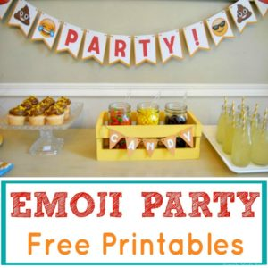 These Printable Emoji Graduation Party Supplies are perfect to celebrate the graduate and to display in your home during graduation from school. Download these printables to display during graduation parties and events Head over to my shop HERE to see these printables and similar items for your holiday events!