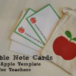 Free Printable Teacher Appreciation Gift Note Cards