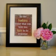 Get Motivated With Fitness Wall Art – Free Printables