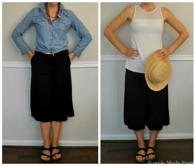 Cullotes -Summer Wardrobe Capsule