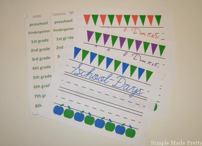 if you want to keep some of your children's artwork or other school paper items without a mess, then this organizing system is for you!