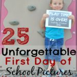25 Unforgettable First Day of School Pictures You Need to Take
