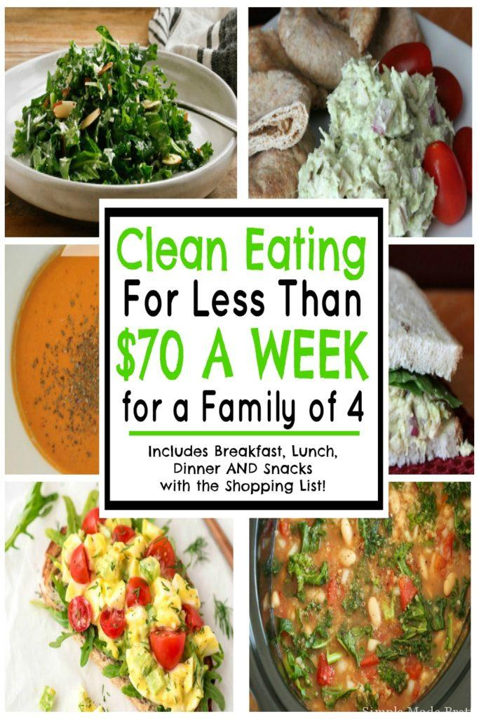 eating for less than 70 a week for a family of 4 simple made pretty