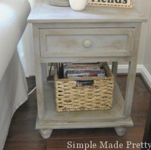 French Linen Chalk Paint with dark wax