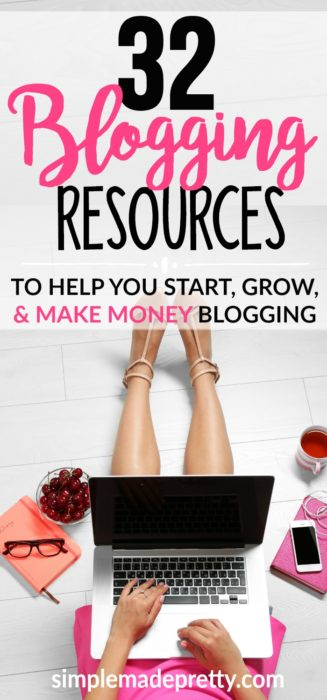 I had no idea what I was doing with my WordPress blog and these blogging resources were a lifesaver! She has blogging checklists and cheat sheets that helped mestart making money working at home as a beginner blogger. Her step by step instructions saved me so much time and frustration setting up my blog!