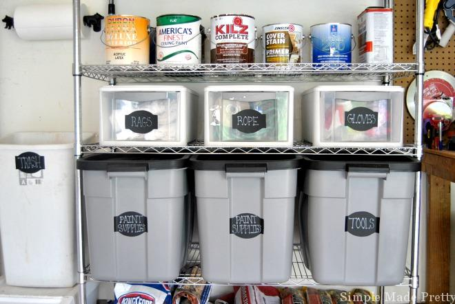 If you are tired of your garage being cluttered or unusable, follow these tips and tricks for how to organize the garage so you can enjoy the space!