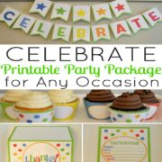 Celebrate Printable Party Package for Any Occasion