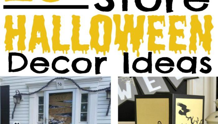 25+ Halloween Decor Ideas from the Dollar Store