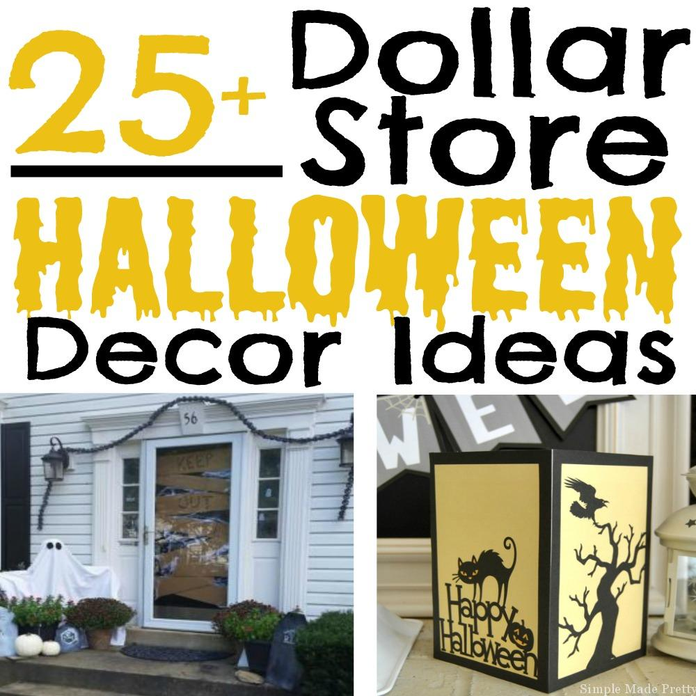 25 halloween decor ideas from the dollar store simple Dollar store home decor
