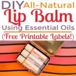 How to Make Lip Balm at Home with Natural Ingredients