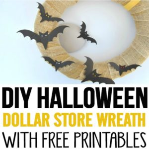 I love decorating for Halloween from the Dollar Store and this DIY Halloween decor DIY Wreath was easy to make. She also shows how to use the same burlap wreath for other occasions. Love her bog!