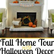 Fall Home Tour with Halloween Decor