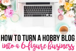 Learn how this blogger started making money fast with her hobby blog!