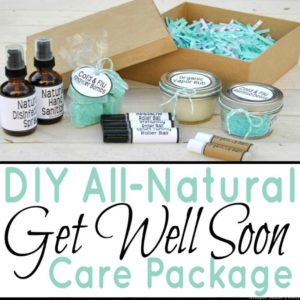 DIY All-Natural Get Well Soon Care Package