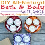 3 DIY Bath and Body Essential Oil Gift Ideas