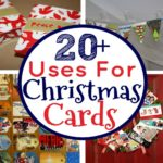 20 Things To Do with Christmas Cards