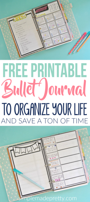 Free Printable Bullet Journal Pages 2018