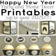 Happy New Year Printable Package