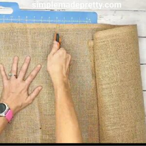 Best Burlap Fabric for Dollar Tree