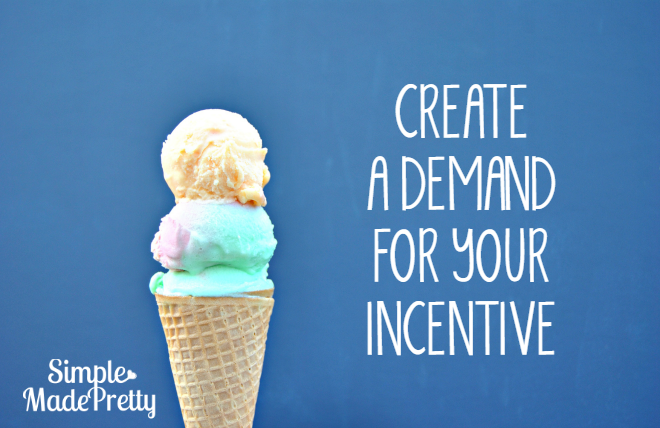 Create a demand for your free incentive that goes viral!
