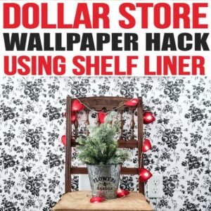 peel and stick wallpaper removable, Target peel and stick wallpaper, peel and stick wallpaper, Dollar Store shelf liner, floral peel and stick wallpaper, peel and stick wallpaper floral, peel and stick wood wallpaper, shiplap peel and stick wallpaper, peel and stick wallpaper for the bathroom, dollar store decor hacks, dollar store hacks DIY projects, Dollar store shelf liner contact paper, Dollar store shelf liner shelves, DIY dollar store hacks   http://www.simplemadepretty.com/dollar-store-hack-peel-and-stick-wallpaper