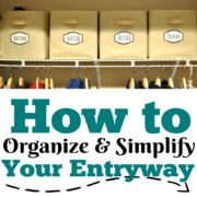 How to Organize and Simplify Your Entryway