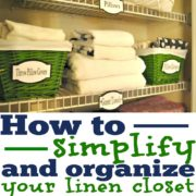 How to Simplify and Organize Your Linen Closet