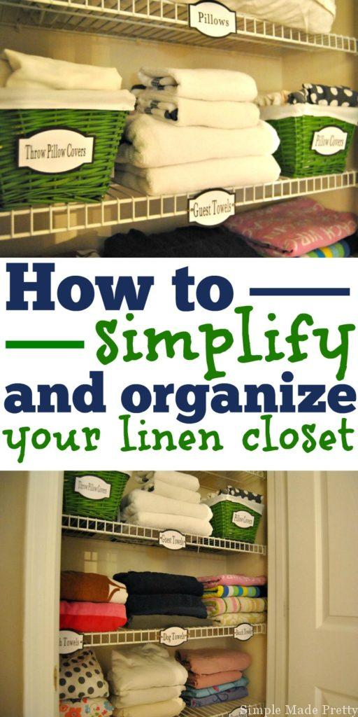 Organize Your Linen Closet Part - 34: Your Linen Closet Probably Has More Towels And Bed Sheets Than You Really  Need. Letu0027s