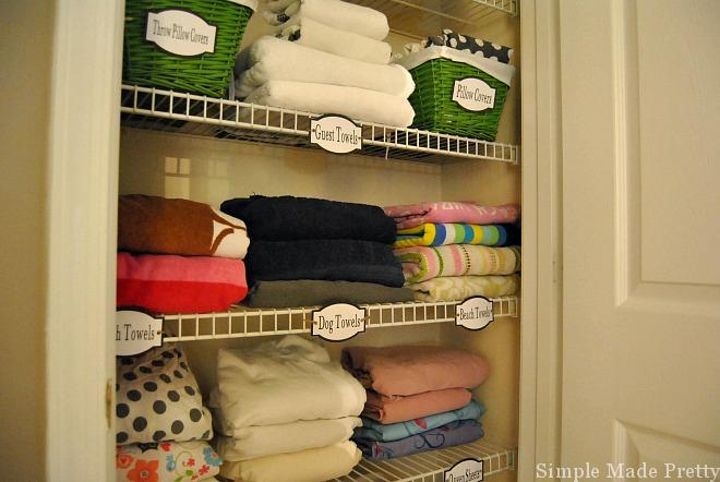 Your Linen Closet Probably Has More Towels And Bed Sheets Than You Really  Need. Letu0027s