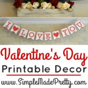Valentine's Day Printable Decor