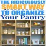 How to Organize the Kitchen Pantry