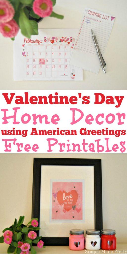 Here are some DIY Valentine Treat Jars using American Greetings Valentine's Day Products! DIY Valentine's Day gift, Romantic Valentine's Day gift, Free Printable Valentine, Printable Valentine tags, Printable Valentine Cards, American Greetings, #MyTuesdayValentine #ad