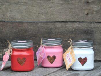 Valentine Treat Jars