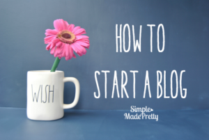How to start a blog in less than 5 minutes for less than $40