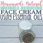 Homemade Natural Wrinkle Cream
