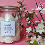Get the printable label for this natural homemade sanitizing wipes. Stop using or buying Clorox wipes loaded with chemicals and save a ton of money by making your own cleaning wipes!