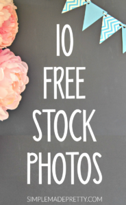 Wow! I love these free stock images! I've already used them on my blog and my Instagram account. She is a great photographer and shows you how to edit photos like a pro! I'll definitely be using these free stock graphics for my online business!