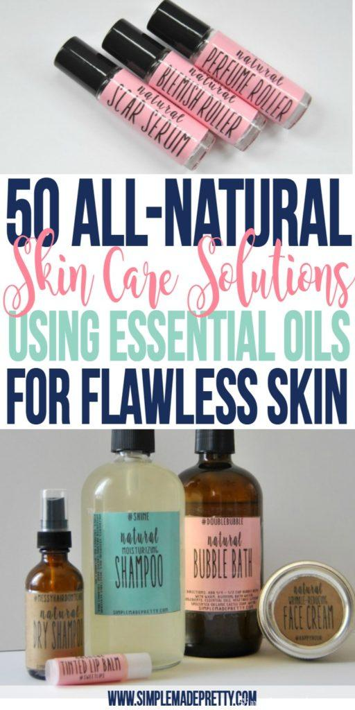 I tried a few of these essential oils recipes and my skin has improved greatly! I was looking for a wrinkle cream and also acne solutions and was tired of buying products with chemicals. I will never go back to buying store bought skin care products again!