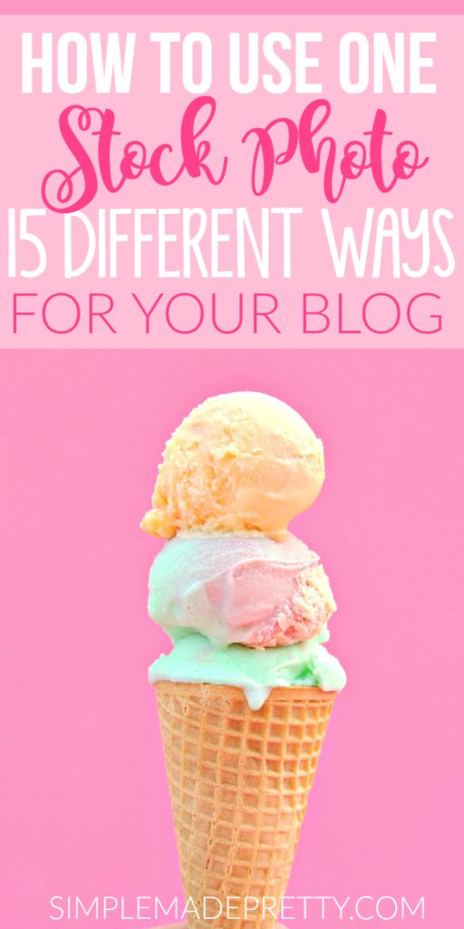 She has some amazing blogging tips! I love her blogging ideas and the different ways to use a stock photo on my blog. She's giving away 10 free stock photos too!